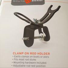 SB Clamp on Boat-Pistol Grip Fishing Rod Holder Adjustable(US MILT. VET. SELLER)