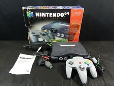 NINTENDO 64 CONSOLE WITH CONTROLLER