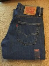 NEW WITH TAG LEVI'S 511 SLIM FIT RED TAB 28 X 32  (MEASURES 29 X 31 1/2)