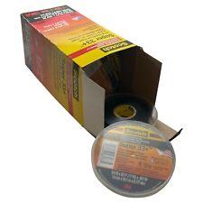 "10 Rolls of 3M Scotch 06133 Super 33+ Vinyl Black Electrical Tape 3/4"" x 52 FT"