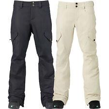 Burton Fly Alto Pantalones Damen-Snowboardhose Esquí Nieve Extralargo Nuevos
