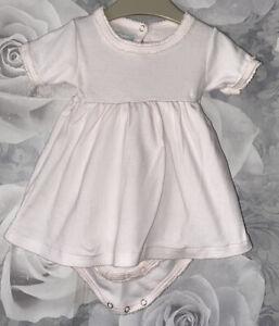 Girls Age 0-3 Months - Petit Bateau Summer Dress
