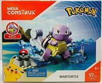 NEW Mega Construx Pokemon WARTORTLE 97 pcs Build It DYF12