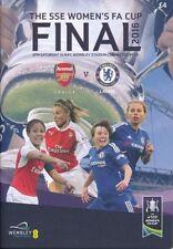 Arsenal Football Fixture Programmes for Women