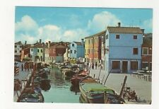 Venezia Isola di Burano Italy Postcard 012b
