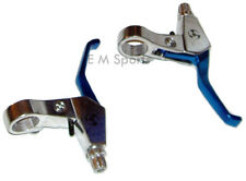 Stand Up Gas Scooter Moped Alloy Brake Lever 23cc 33cc 43cc 47cc 49cc Blue