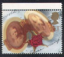 GB 1992 Greetings/Memories/Rose/Locket/Photographs/Flowers/Nature 1v (b6283y)