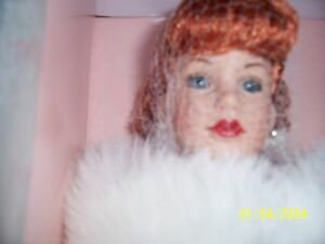 "Robert Tonner Kitty Collier Midnight Waltz 18""Vinyl Doll in Ensemble w/Stole NIB"