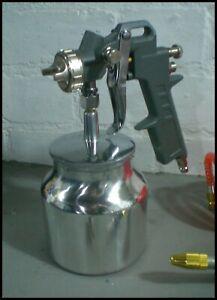 Spray Gun Air Body Shop Paint Spraying Car Garage Workshop Booth Sprayer Tool