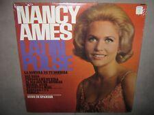 NANCY AMES Latin Pulse Joe Sherman RARE SEALED NM Mono New Vinyl LP 1966 LN24189