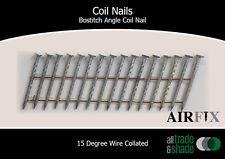 Coil Nails - BACN - Mechanical Gal - Screw - Length: 57mm x 2.5mm - Box: 9,900