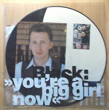 """Black 12"""" maxi: You 're a Big Girl Now (Picture A & M Records – amp 480)"""