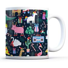 Christmas Creatures - Drinks Mug Cup Kitchen Birthday Office Fun Gift #16817