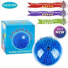 Mini 3D Magic Maze Puzzle Ball Cube Game Globe Sphere Bulk Labyrinth Toys Brai..