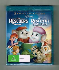 The Rescuers / The Rescuers Down Under (2-Movie Collection) Blu-ray New & Sealed