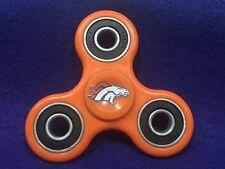 Denver Broncos NFL Tri-Fidget Spinner **Limited Edition!** 608 Bearings.