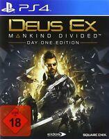 PS4 / Sony Playstation 4 Spiel - Deus Ex Mankind Divided DE mit OVP