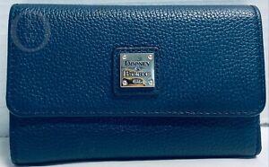 *DOONEY & BOURKE*Supple Belvedere Leather*Blue*Tri Fold Wallet*21088L S177
