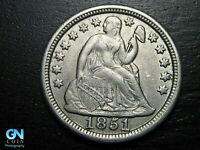 1851 P Seated Liberty Dime --  MAKE US AN OFFER!  #B9285