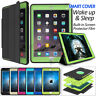 For iPad Pro Hybrid Heavy Duty Shockproof Flip Smart Case Cover with Kickstand
