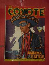EL COYOTE DI J.MALLORQUI N° 155 DARDO 1957 -RARO ROMANZO COLLANA DEL COYOTE