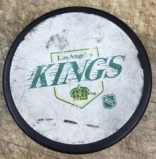 31d70022692 LOS ANGELES KINGS crown LA VINTAGE HOCKEY PUCK NHL OFFICIAL MADE CANADA
