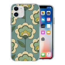 For Apple iPhone 11 Silicone Case Retro Flower Pattern - S10208
