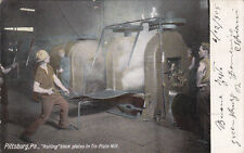* PITTSBURGH - Rolling black plates in Tin Plate Mill