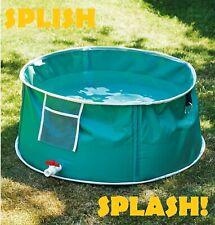 Portable Pet Pool Swimming Bath Cat Dog Indoor Outdoor POP UP Bathtub TAP