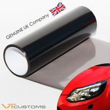30 x 200cm Light Smoke Black Tint Film Headlights Tail lights Car Vinyl Wrap