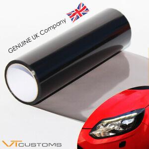30 x 200cm Light Smoke Black Tint Film Headlights Tail lights Car Vinyl Wrap