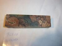 Gestockte Buche, gefärbt Stabilisiert, Messergriff,  Edelholz / BGB 19