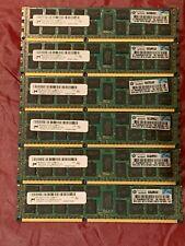 8GB HP 500205-071 DDR3-133 PC3-10600R ECC REG Micron MT36JSF1G72PZ-1G4M1FE