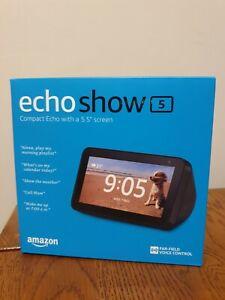Amazon Echo Show 5 - Black - Brand new in box