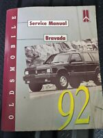 1992 Oldsmobile Bravada Factory  Service Manual