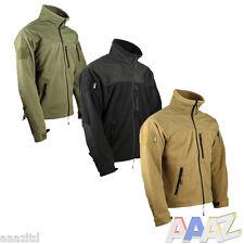Tactical Recon Military Fleece Zip Hoodie Army Jacket Combat Hoody Airsoft