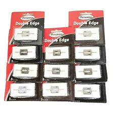 55 Blades - Personna Double Edge Razor Blades Stainless Steel Total of 11 Packs