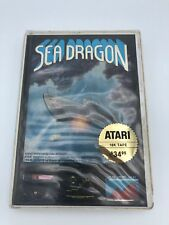 Sea Dragon Adventure International Atari 8-bit 400/800/XL Computer Game CIB