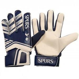 Tottenham Hotspur FC Official Crested Goalkeeper Gloves Youths Gift Spurs