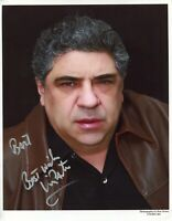Vincent Pastore The Sopranos Shark Tale Goodfellas Signed Autograph Photo