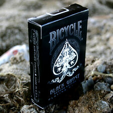Carte Bicycle Black Ghost by Ellusionist - formato poker - SOLOMAGIA