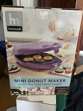 Homemade Mini Donut Maker Makes 7 Donuts Ready To Serve