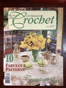 Australian Crochet Magazine Vol 1 No. 4  10 Fabulous Patterns