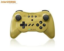 CONTROLLER PRO U WIRELEESS CONTROLLER FOR Wii & Wii CLASSIC by INTERWORKS (GOLD)