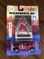LEBRON JAMES 2003-04 FLEER ULTRA ROOKIE CARD WITH H2 HUMMER TOY TRUCK *UNOPENED*