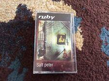 Ruby Salt Peter Cassette 1995 Industrial Trip Hop Creation Records Very Good