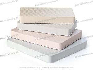 Unlax Mattress / Deep / Quilted / Orthopaedic Memory Foam / Sprung ✅ BEST ONLINE