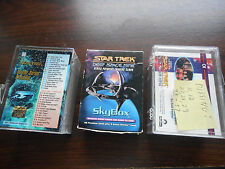NIB 3 BOXES OF STAR TREK TRADING CARDS 2 COMPLETE 1 MISSING 7 CARDS 1993