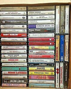 47 Cassettes Mix ~ Rock ~ Classical ~ Jazz ~ Broadway ~ Pop ~ Folk ~ Tango EX+