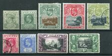 St Helena 1890-1934 QV-KGV. Selection of Mint & Used stamps.